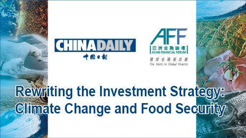 Rewriting the Investment Strategy: Climate Change and Food Security