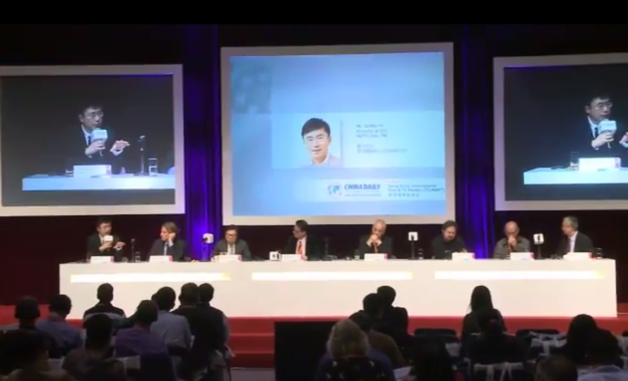 20130320 Filmart: Challenges, Opportunities and Partnership for the Asia's Film Industry