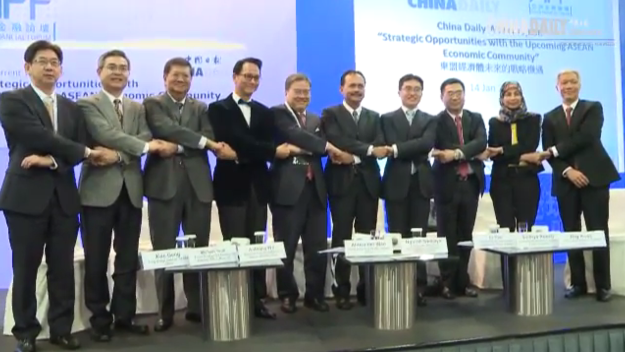 20140114 AFF: Strategic Opportunities with the upcoming ASEAN Economic Community